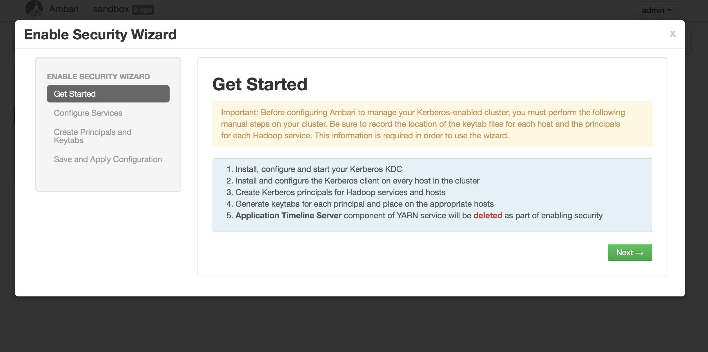 Kerberized Hadoop Cluster – A Sandbox Example – henning