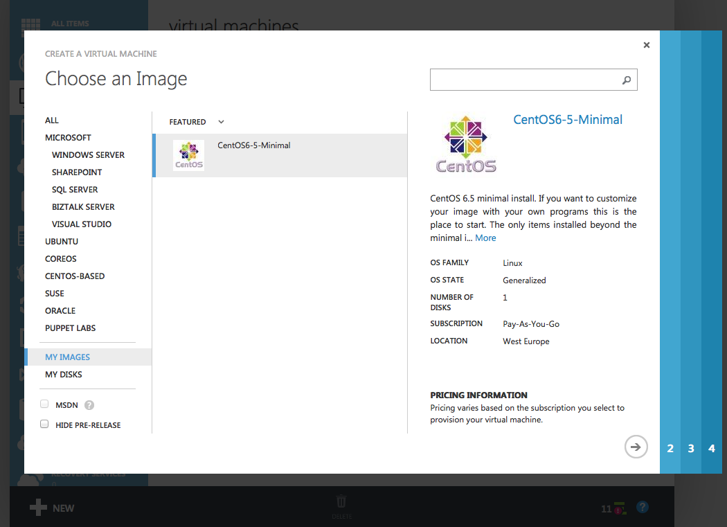 Creating a HDP Ready CentOS Image for Azure – henning